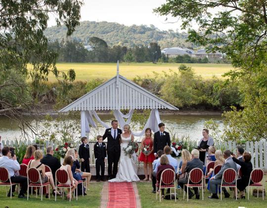 Riverside ceremonies